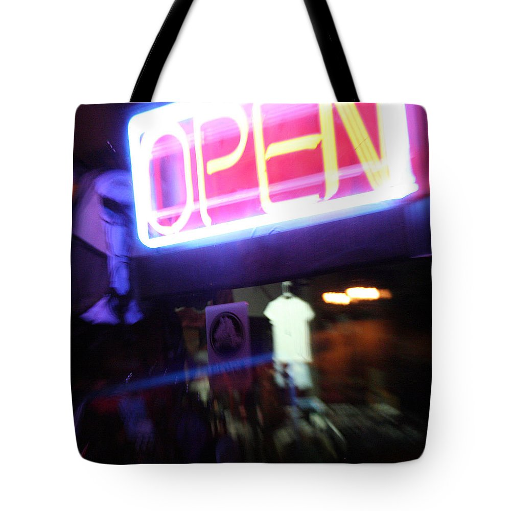 Open Tote Bag featuring the photograph Open by Ric Bascobert