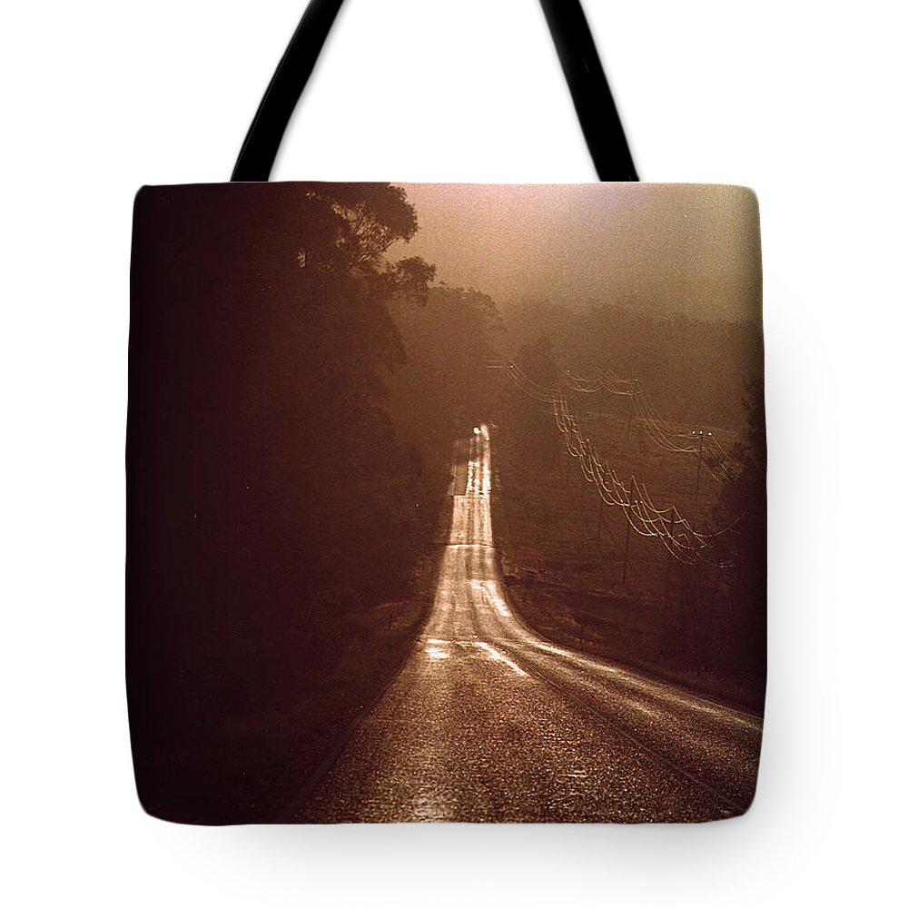 Road Tote Bag featuring the photograph Open Road by David Halperin