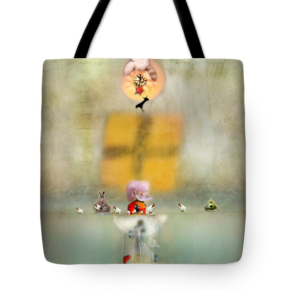 Fish Tote Bag featuring the photograph Openings by Karen Divine