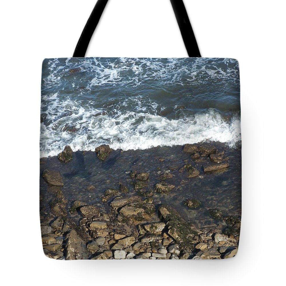 Ocean Tote Bag featuring the photograph Opponents by Shari Chavira