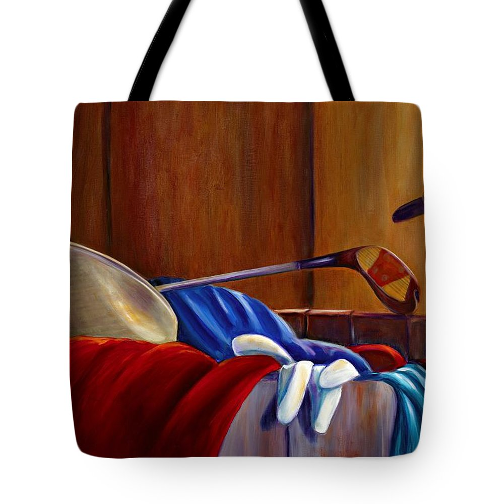 Still Life Tote Bag featuring the painting Opur's Blade by Shannon Grissom