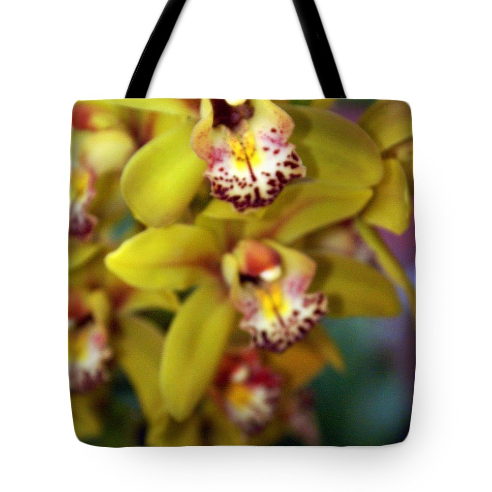 Flower Tote Bag featuring the photograph Orchid 11 by Marty Koch