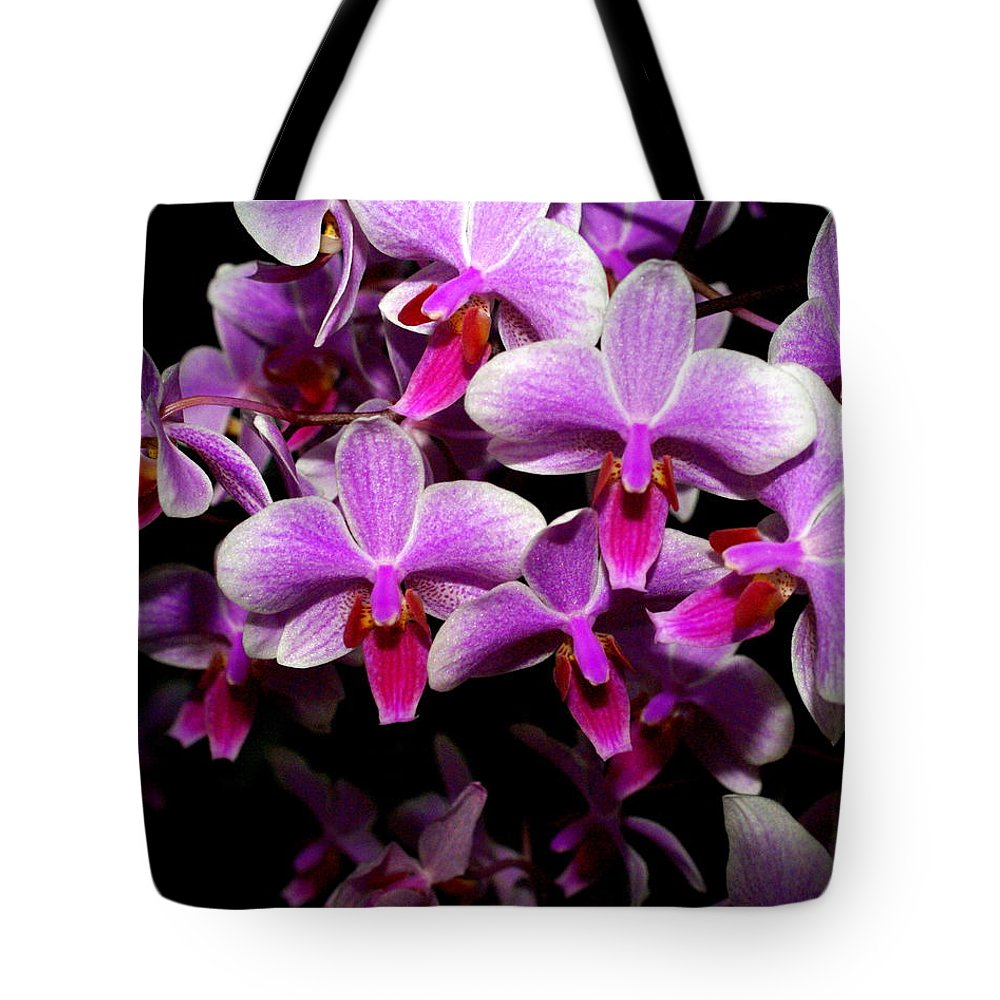 Flower Tote Bag featuring the photograph Orchid 12 by Marty Koch