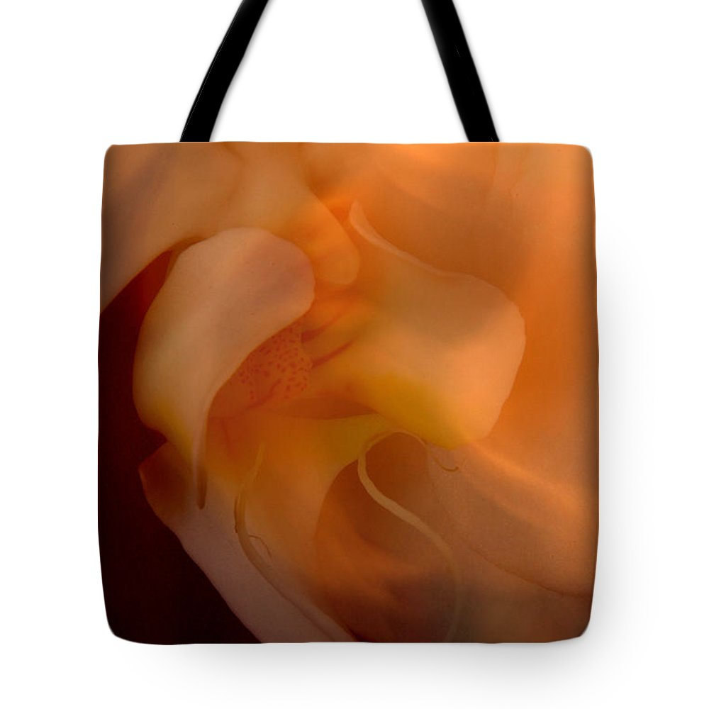 Orchid Tote Bag featuring the photograph Orchid Detail by Michael Ziegler
