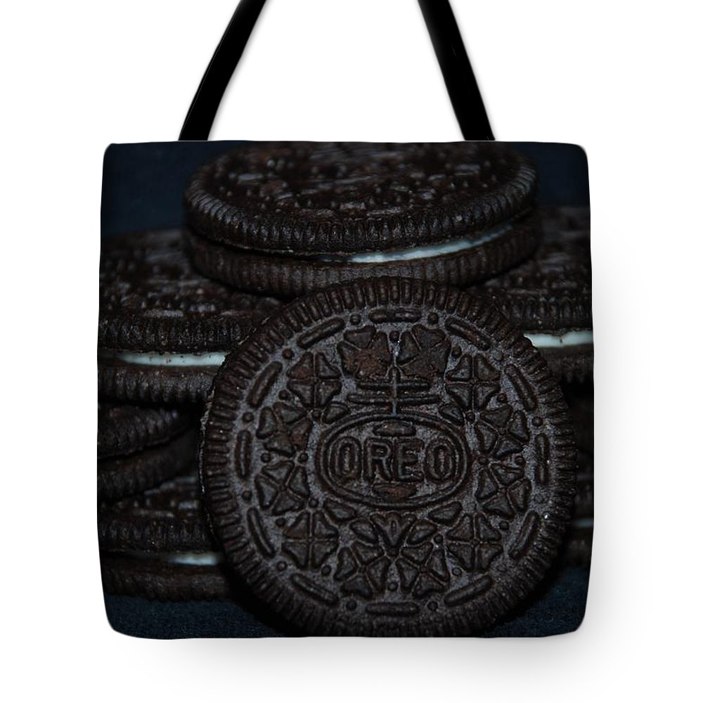 Oreo Tote Bag featuring the photograph Oreo Cookies by Rob Hans