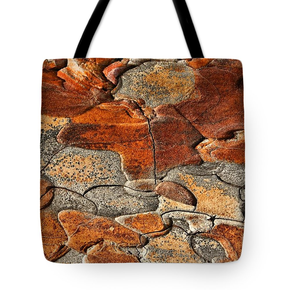 Abstract Tote Bag featuring the photograph Organic Abstract by Aimelle