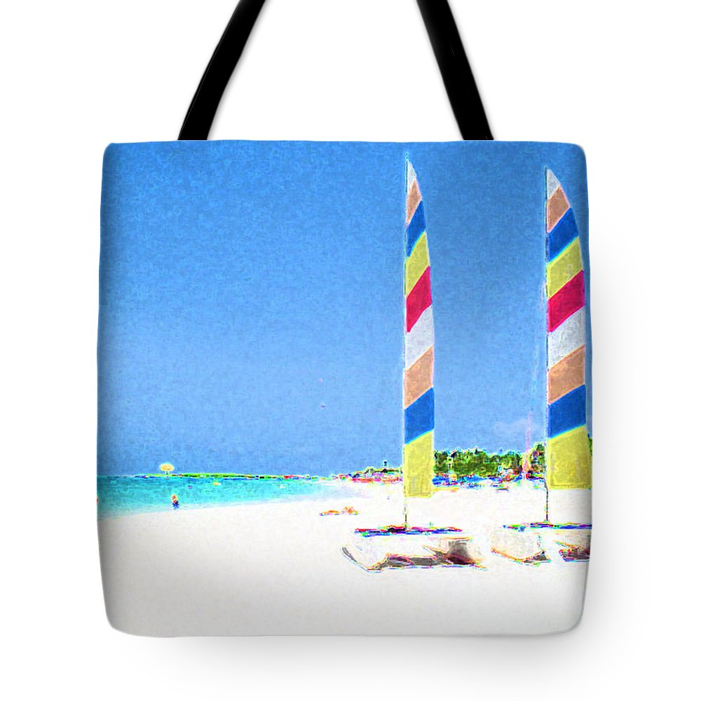 Orient Beach Tote Bag featuring the photograph Orient Beach St. Martin by Jerome Stumphauzer