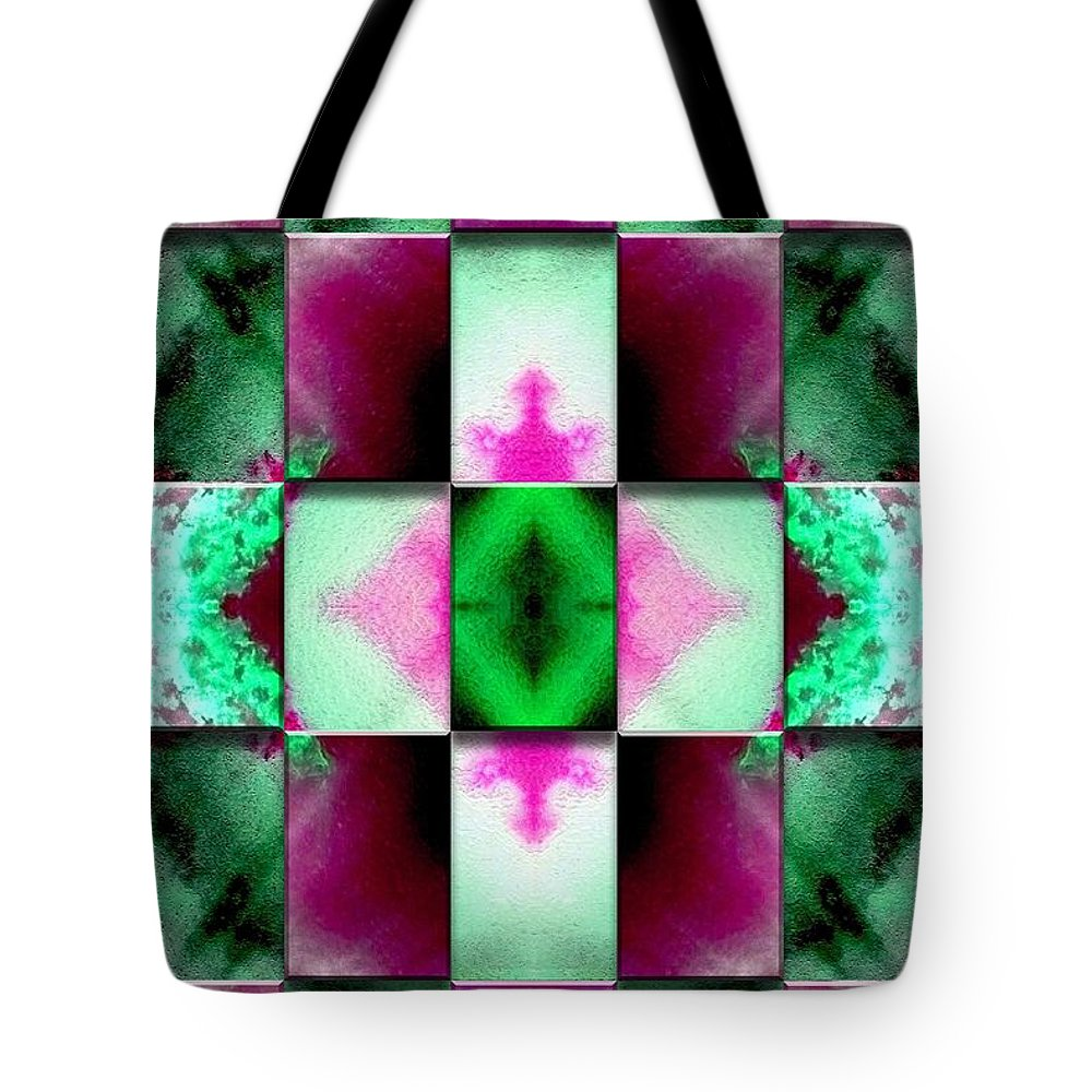 Abstract Digital Art Tote Bag featuring the digital art Origin Of Life by Mark Sellers