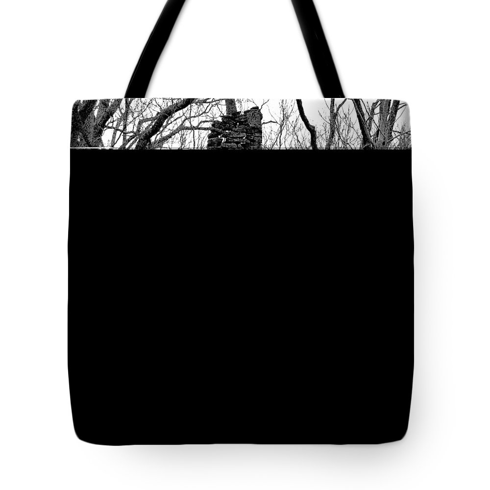 Cumming Georgia Tote Bag featuring the photograph Original Old Home by Mike Fairchild