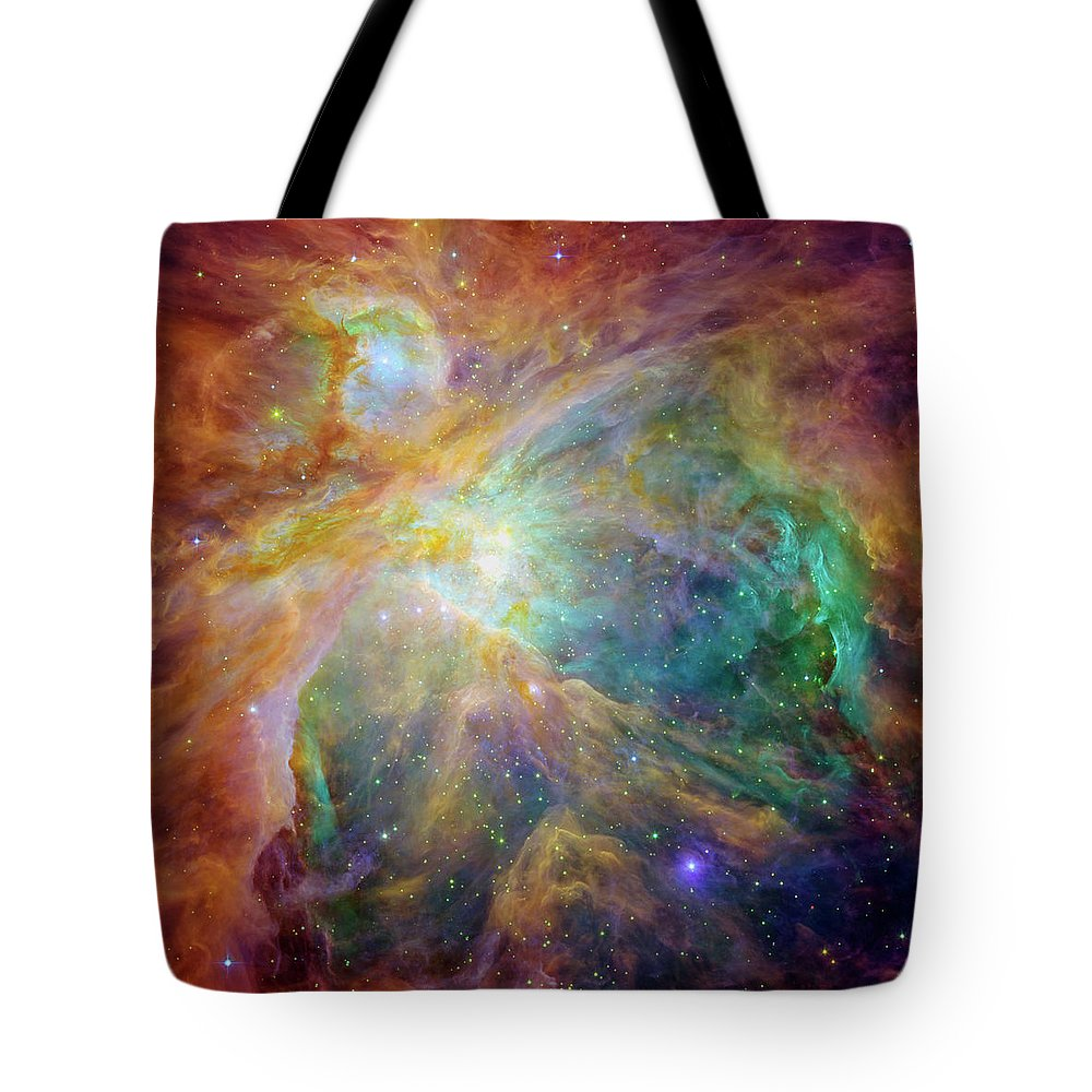 Infrared Radiation Photographs Tote Bags