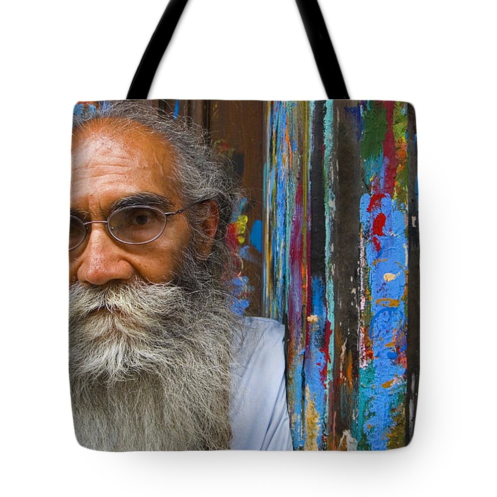 Architecture Tote Bag featuring the photograph Orizaba Painter by Skip Hunt