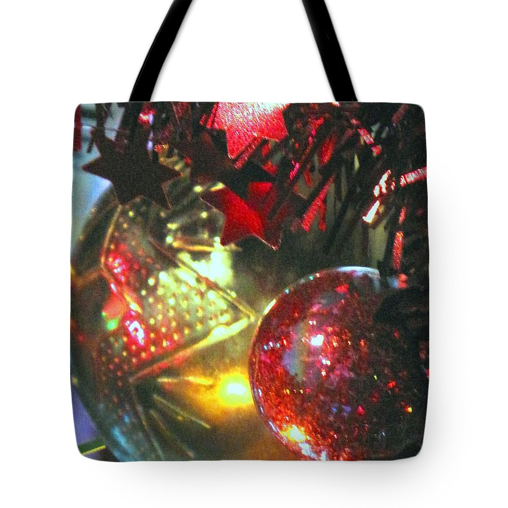 Ornaments Tote Bag featuring the photograph Ornaments by Ian MacDonald