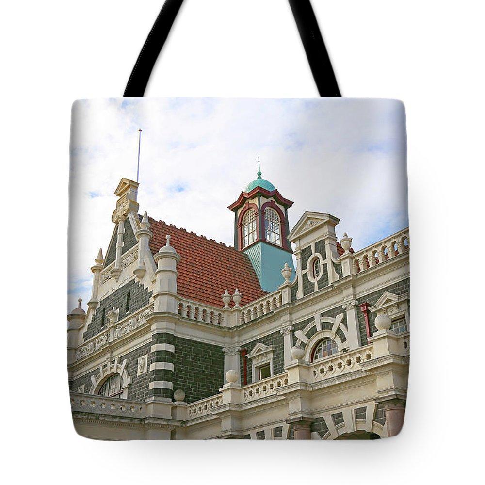 Ornate Tote Bag featuring the photograph Ornate Architecture by Nareeta Martin