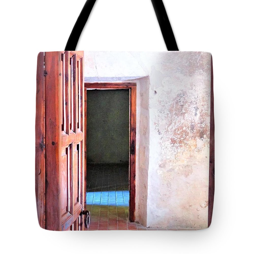 Tote Bag featuring the photograph Other Side by Pablo Munoz