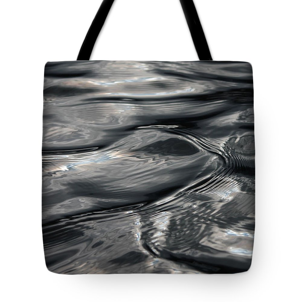 Ripples Tote Bag featuring the photograph Otter Ripples by Cathie Douglas