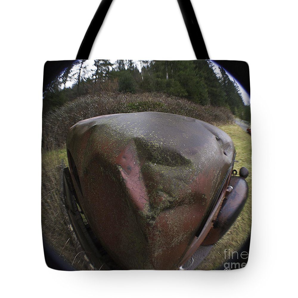 Art Tote Bag featuring the photograph Ouchie by Clayton Bruster