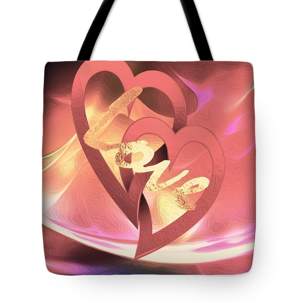 Love Tote Bag featuring the photograph Our Love by Linda Todd