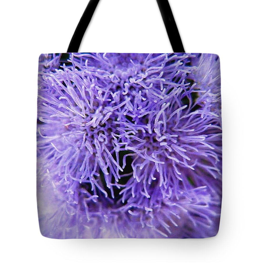 Floral Tote Bag featuring the photograph Out Of This World by Rhonda Barrett