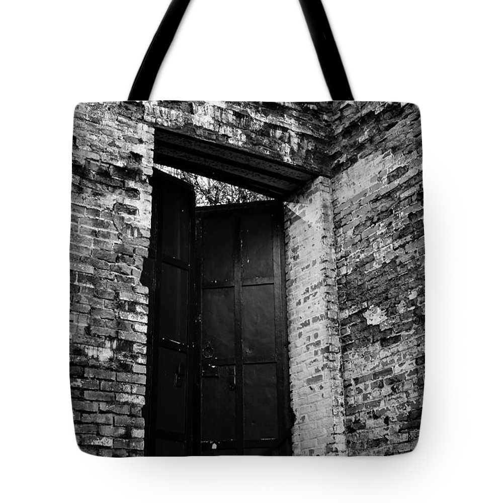 Old Tote Bag featuring the photograph Out The Back by Marnie Patchett