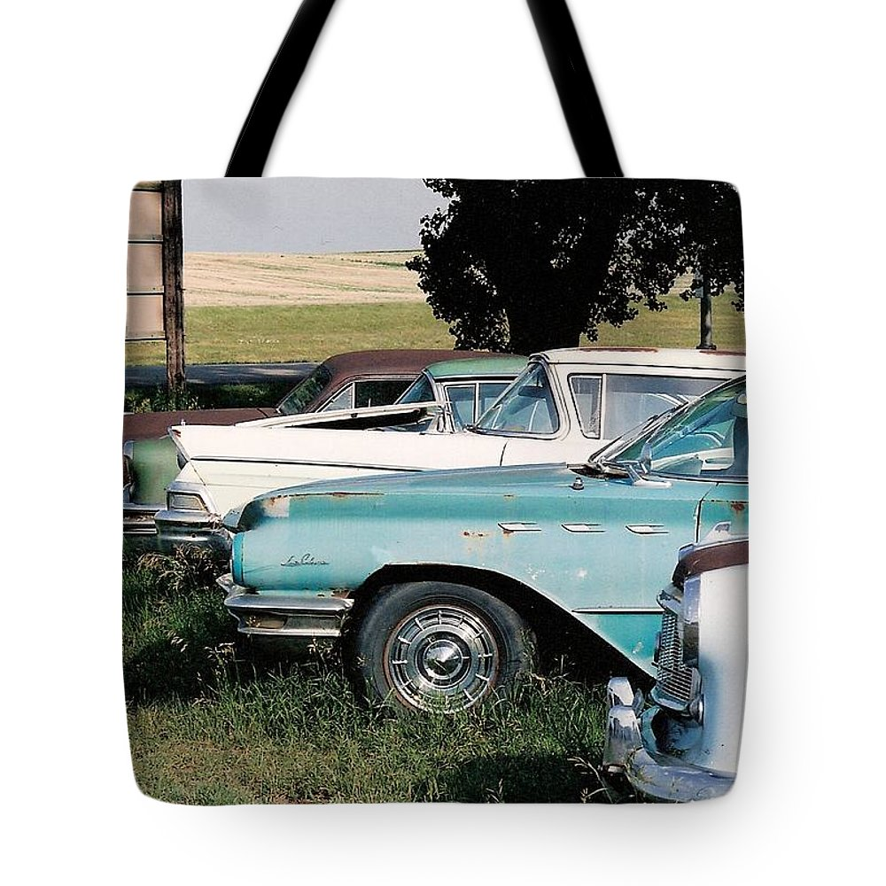 Rural Tote Bag featuring the photograph Out To Pasture by Lauri Novak