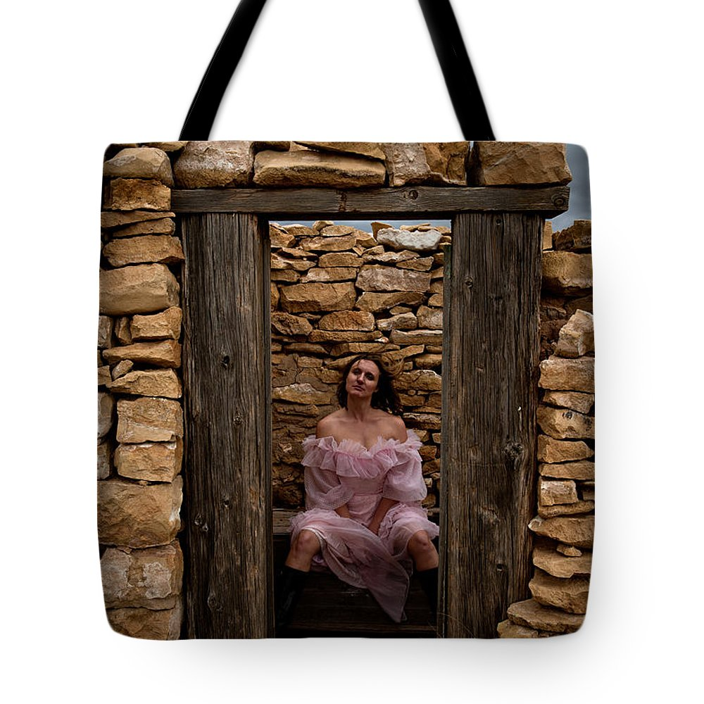 Woman Tote Bag featuring the photograph Outdoor Outhouse by Scott Sawyer