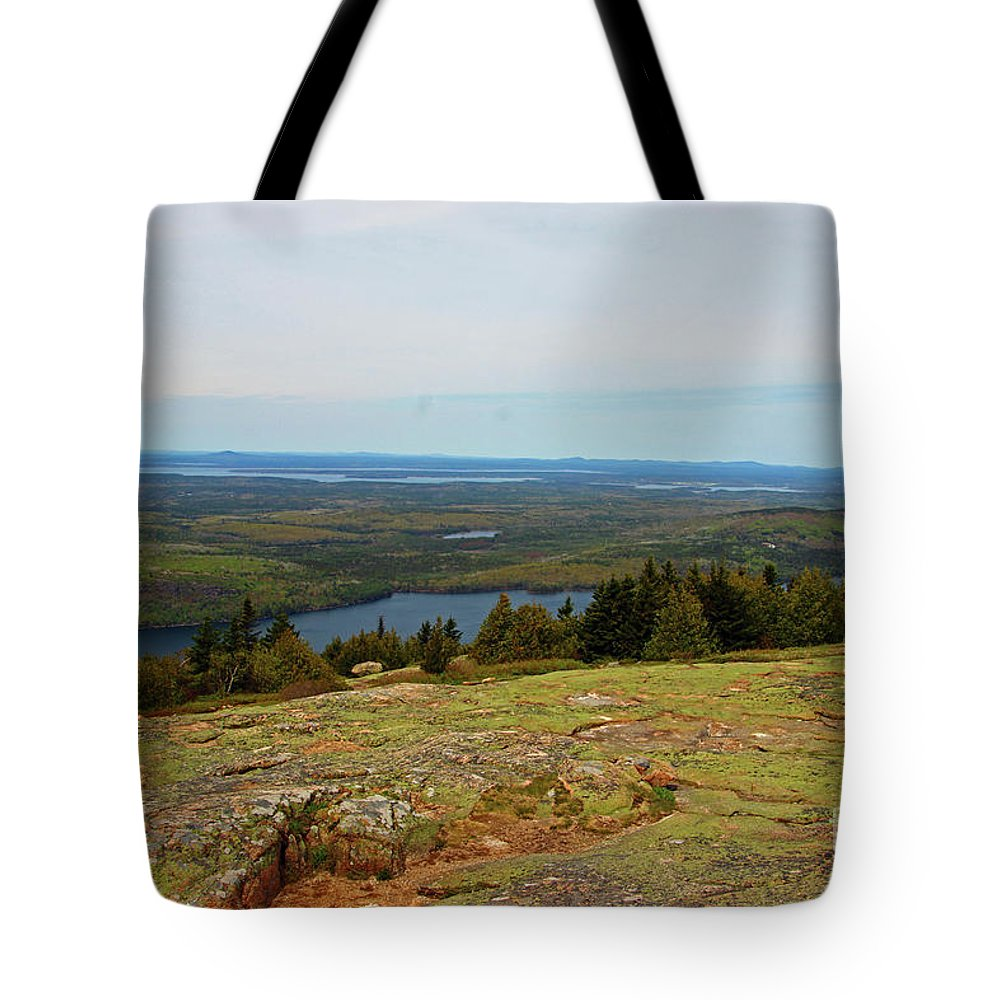 Landscape Tote Bag featuring the photograph Over The Horizon by Nicole Engelhardt