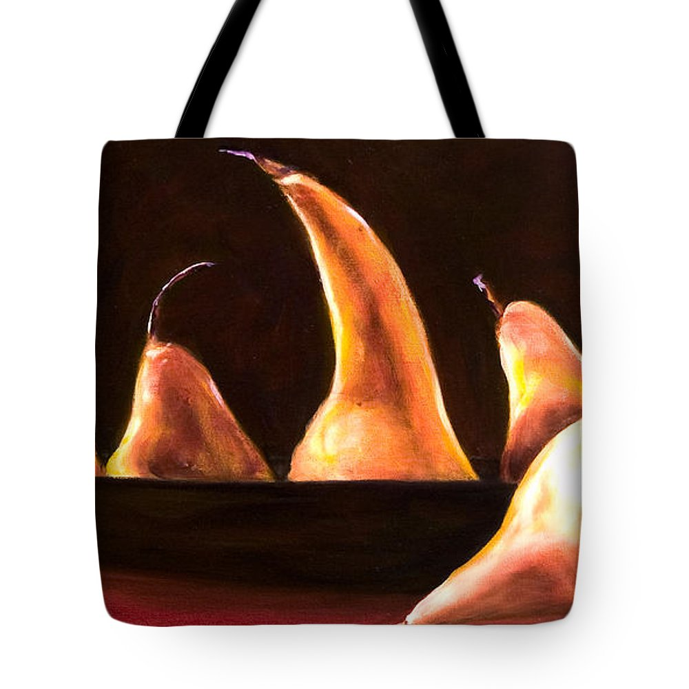Still Life Tote Bag featuring the painting Overboard by Shannon Grissom