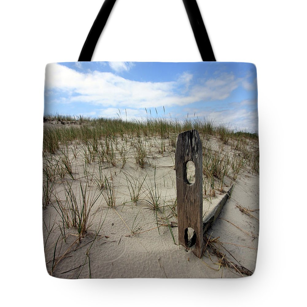 Beach Tote Bag featuring the photograph Overtaken by Mary Haber