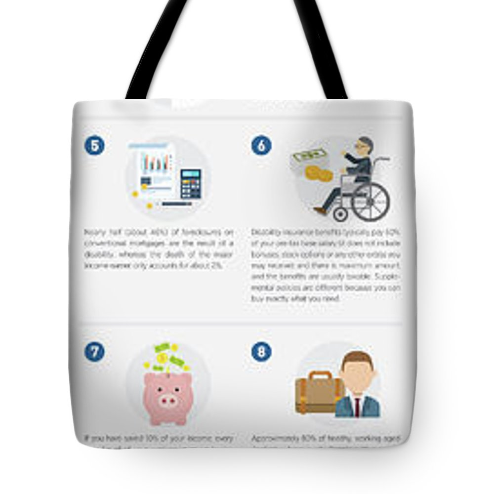 Own Specialty Disability Insurance Tote Bag featuring the tapestry - textile Own Specialty Disability Insurance Physicians by Doctor Disabilityshop