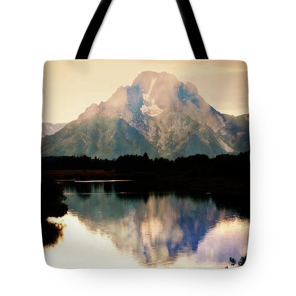 Grand Teton National Park Tote Bag featuring the photograph Oxbow Bend 14 by Marty Koch