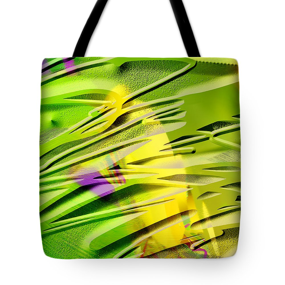 Scott Piers Tote Bag featuring the painting P39b by Scott Piers