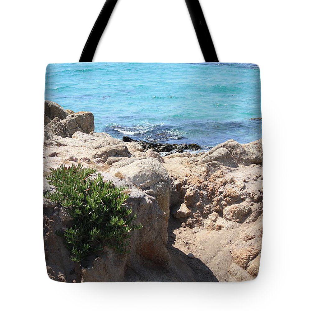 California Tote Bag featuring the photograph Pacific Blue by Carol Groenen
