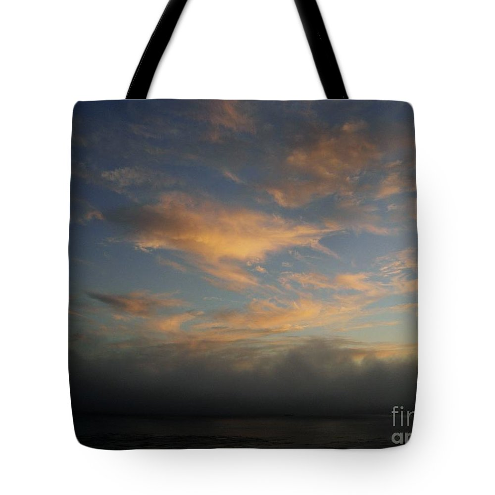 Ocean Tote Bag featuring the photograph Pacific Grove Sunrise by Mary Rogers