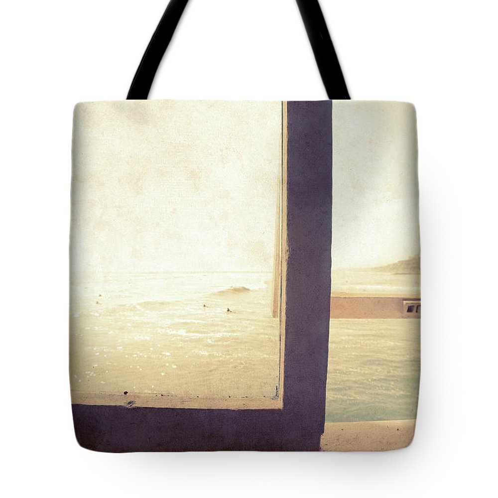 Pacific Tote Bag featuring the photograph Pacific Window by Nadia Di Silvestro