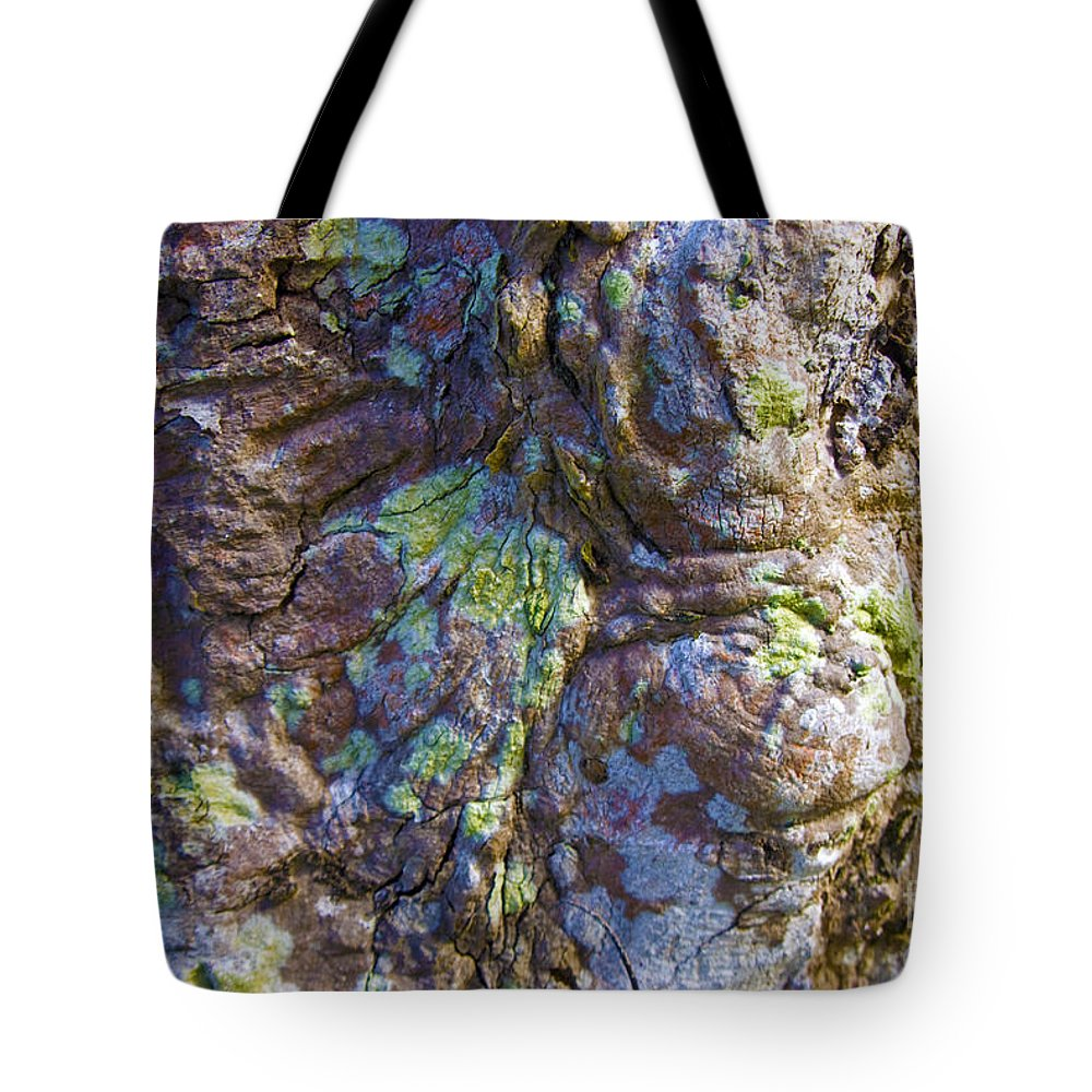 Abstract Tote Bag featuring the photograph Paint Ball by Carl Ellis