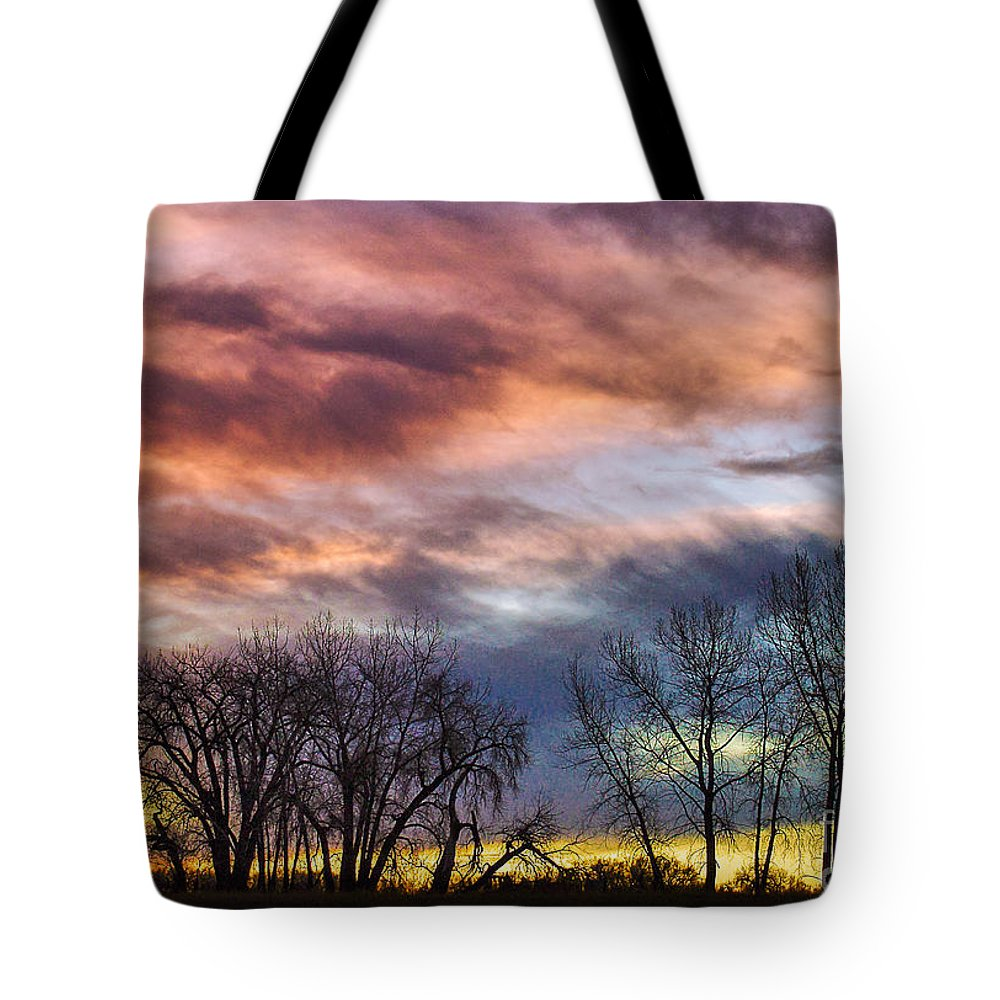 Beautiful Tote Bag featuring the photograph Paintbrush Sunrise by Greg Summers