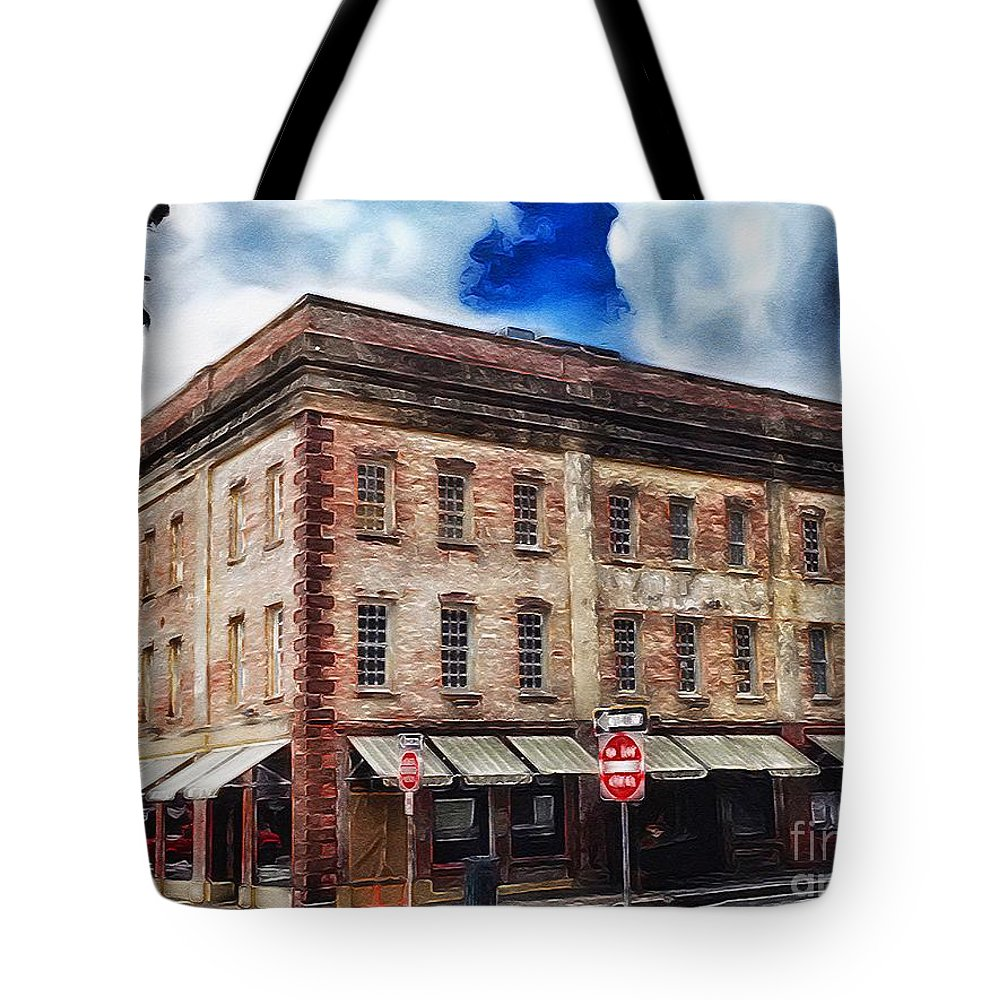 Brushstroke Tote Bag featuring the photograph Painted Lady And Sons by Paul Wilford