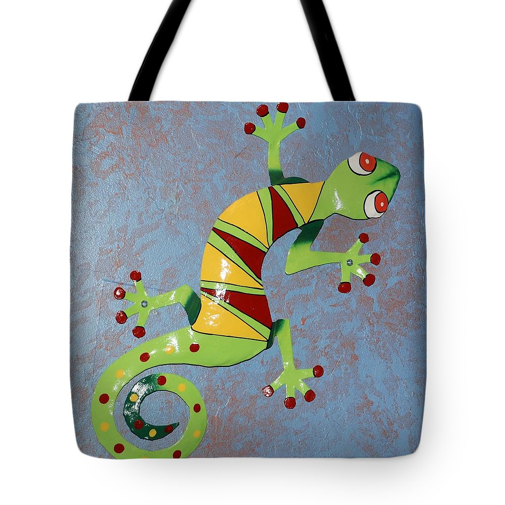 Southwestern Art Tote Bag featuring the photograph Painted Liz by Rob Hans