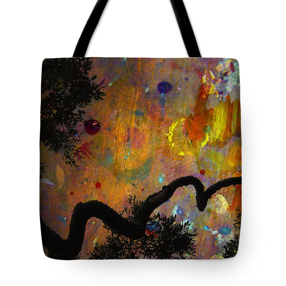 Abstracts Tote Bag featuring the photograph Painted Skies by Jan Amiss Photography
