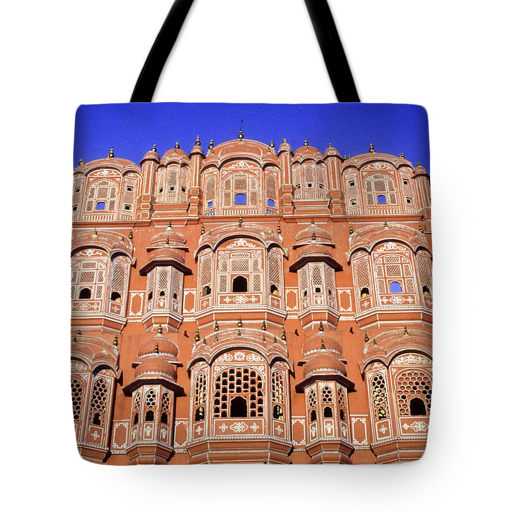 India Tote Bag featuring the photograph Palace Of The Wind by Michele Burgess