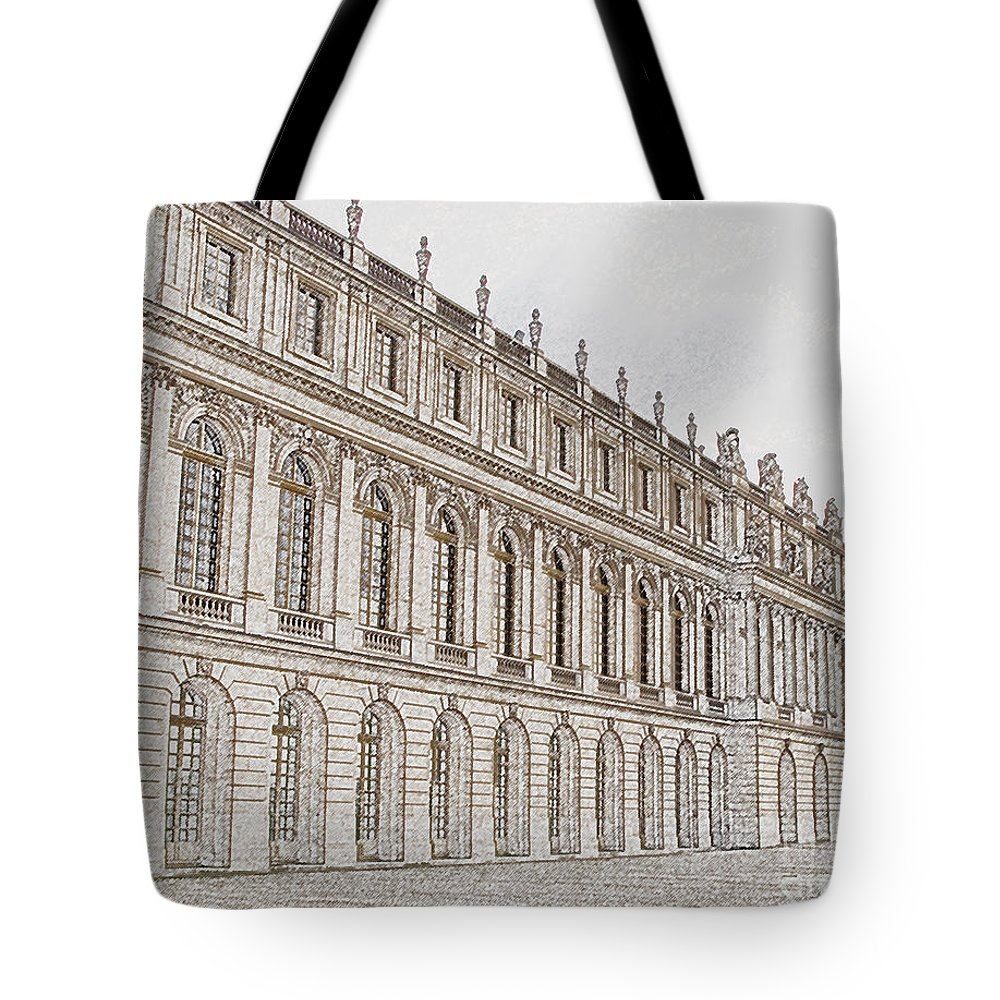 France Tote Bag featuring the photograph Palace Of Versailles by Amanda Barcon