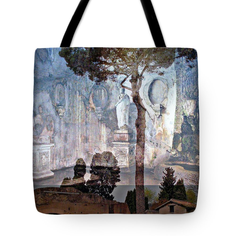 Rome Tote Bag featuring the photograph Palatine Hill by Mindy Newman