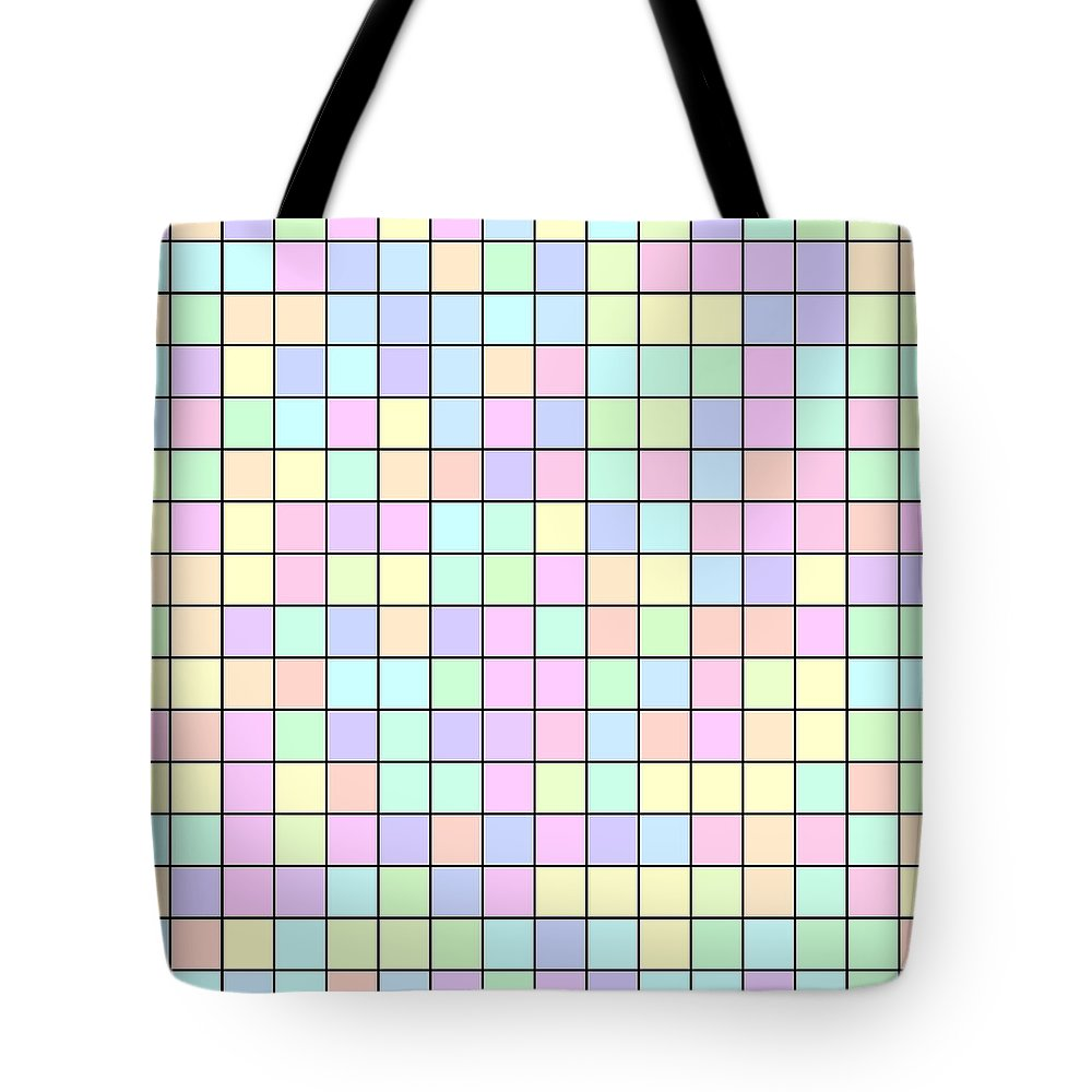 Rithmart Pale Tote Bag featuring the digital art Pale.32 by Gareth Lewis