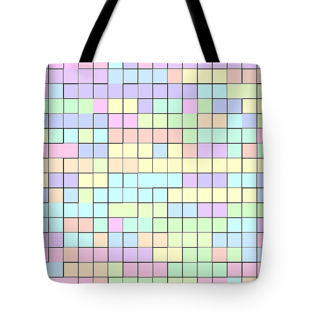 Rithmart Pale Tote Bag featuring the digital art Pale.33 by Gareth Lewis