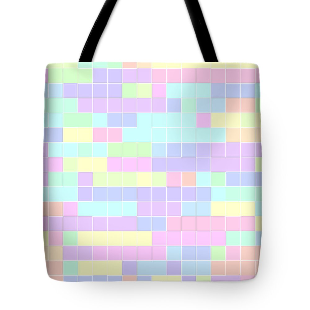 Rithmart Pale Tote Bag featuring the digital art Pale.34 by Gareth Lewis