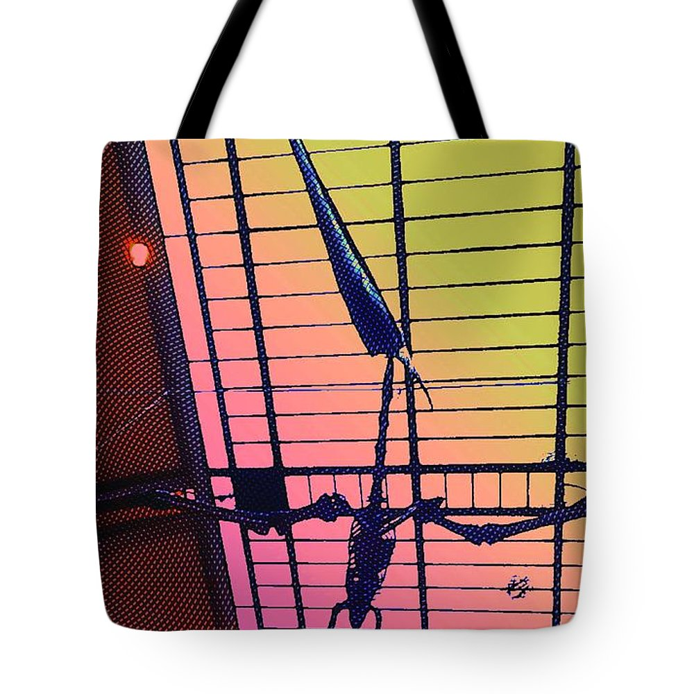 Pterodactyl Tote Bag featuring the photograph Paleo Flight by Helge