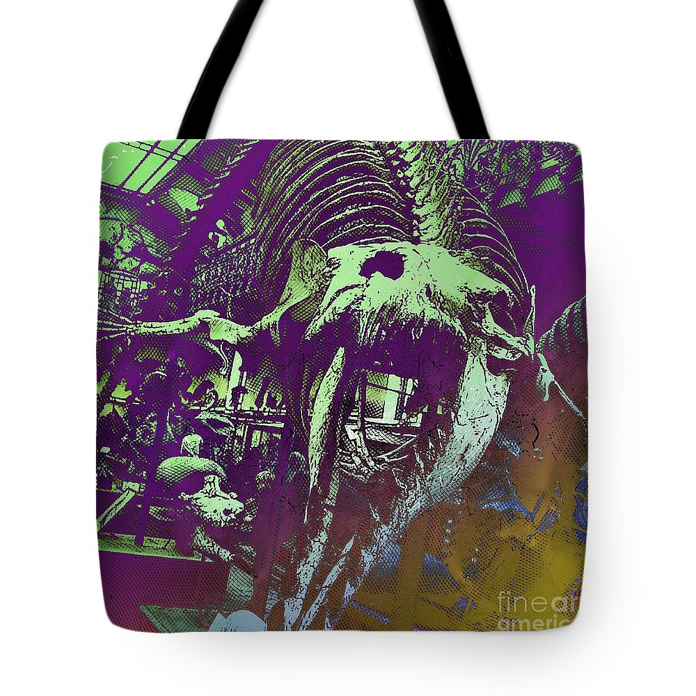 Shark Tote Bag featuring the photograph Paleo Squale by Helge