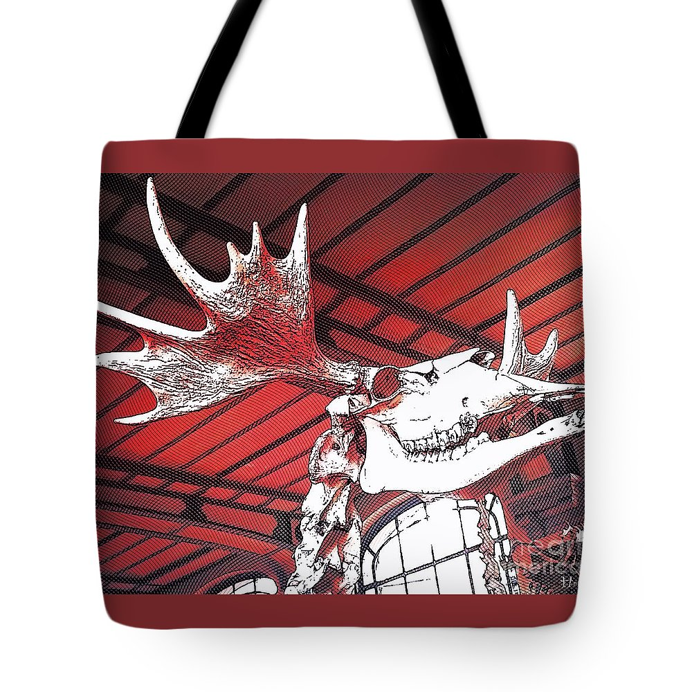 Paleo Tote Bag featuring the photograph Paleo Wood by Helge