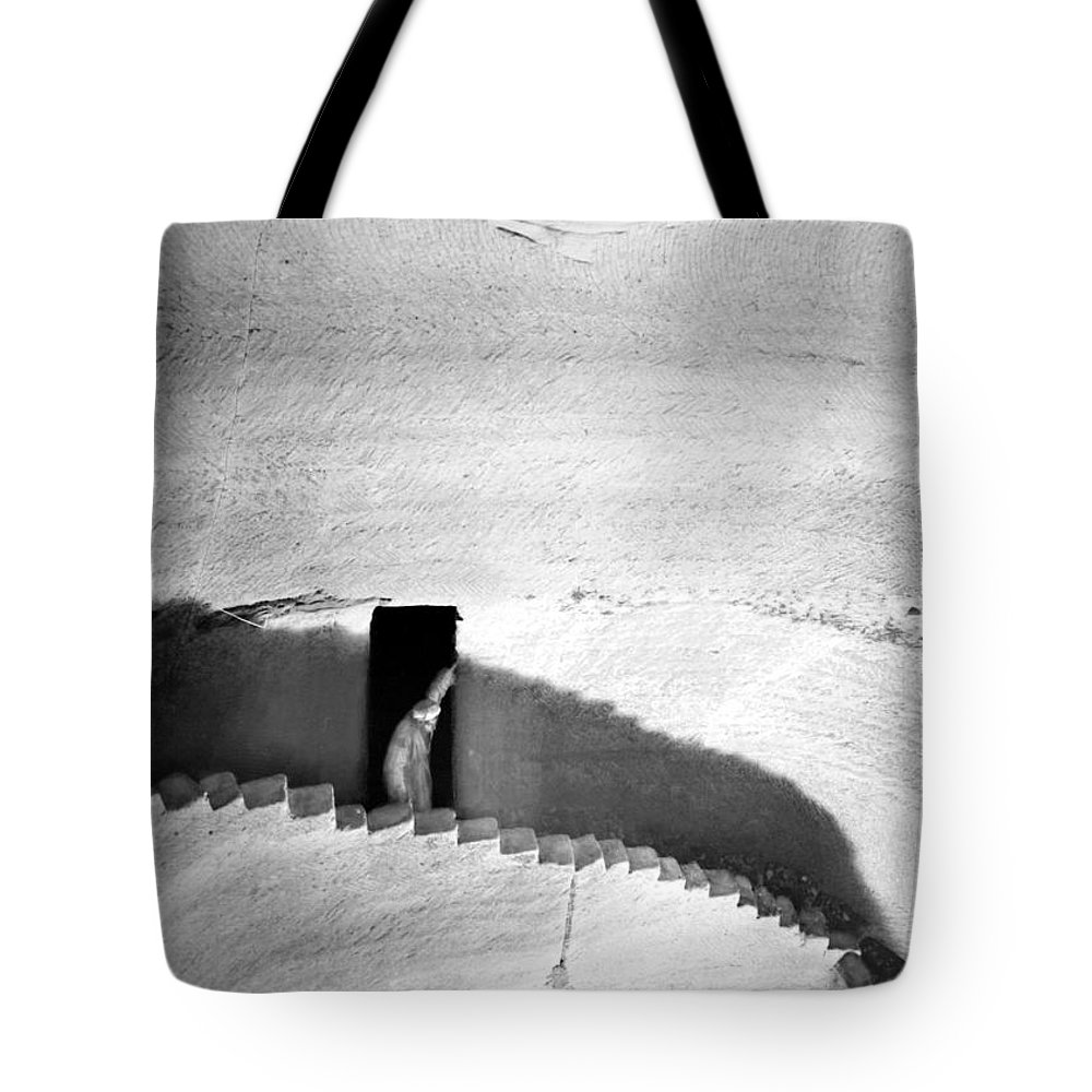 1910s Tote Bag featuring the photograph Palestine: Cave by Granger