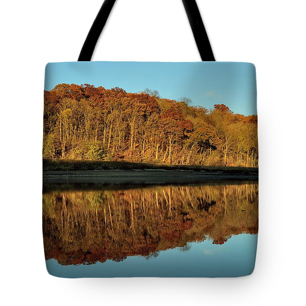 Landscape Tote Bag featuring the photograph Palisades-kepler State Park by Sherri Hasley